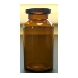 10mL Amber Shorty Serum Vials, 24x47mm, Ream of 238