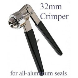 Vial Crimper 32mm All Aluminum Seals