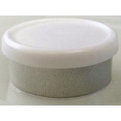 West 20mm Matte Flip Cap Vial Seals, White, Bag 1000