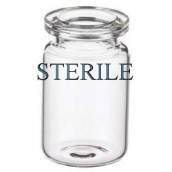 Open 5mL Clear Sterile Vials, Depyrogenated, Ream of 219 pieces