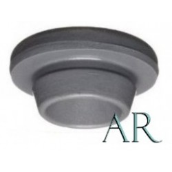 20mm Vial Stopper, Round Bottom, Autoclave Resistant, Pack of 100