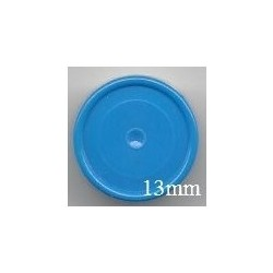 13mm Plain Flip Caps, Light Blue, Bag of 1,000