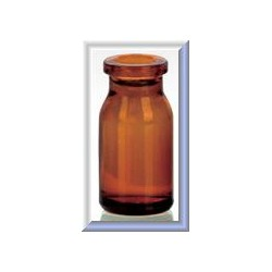 5mL Amber Molded Serum Vials, 23x47mm, Ream of 234