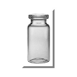 10mL Clear Serum Vials, 24x50mm, Case of 1050