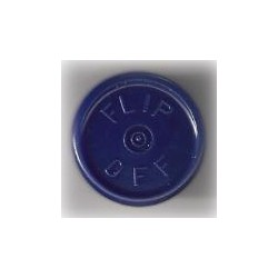 20mm Flip Off Vial Seals, Dark Navy Blue, Bag of 1000