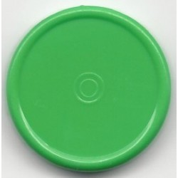 20mm Plain Flip Caps, Meadow Green, Pk 100