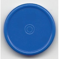 20mm Plain Flip Caps, Medium Blue, Bag 1000
