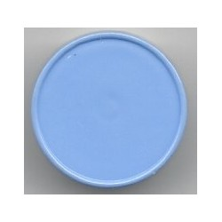 20mm Plain Flip Caps, Powder Blue, Pk 100