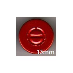 13mm Center Tear Vial Seals, Red, Bag of 1000