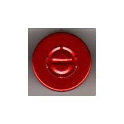 20mm Center Tear Vial Seals, Red, pack of 100
