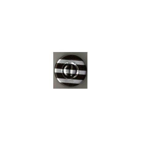 20mm Center Tear Vial Seals, Black Stripe, Pack of 100