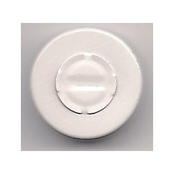 20mm Center Tear Vial Seals, White, Pack of 100
