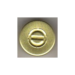 20mm Center Tear Vial Seals, Gold, Pack of 100
