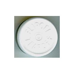 20mm Flip Off-Tear Off Vial Seals, White, Pack of 100