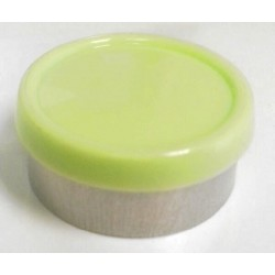 20mm Superior Flip Cap Vial Seal, Faded Light Green, Bag 1000