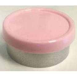 20mm Superior Flip Cap Vial Seal, Gloss Pink, Bag 1000