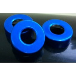 Blue 20mm Open Hole Vial Seals, Bag of 1000