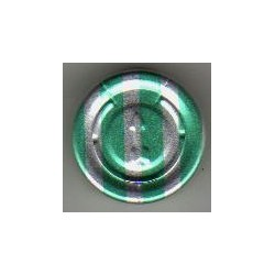 20mm Full Tear Off Vial Seals, Green Stripe, Pk 100