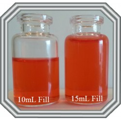 10mL Clear Serum Vial, 27x49mm, Case of 1050