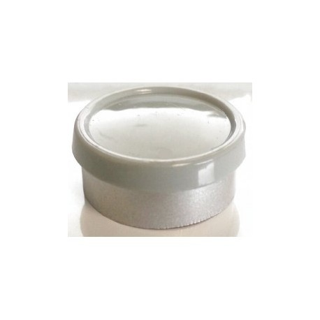 20mm Superior Flip Cap Vial Seal, Misty Gray, Bag 1000