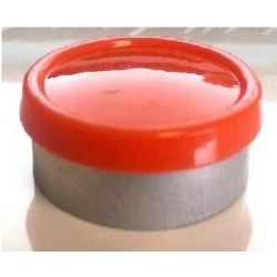 20mm Superior Flip Cap Vial Seal, Orange Peel, Bag 1000