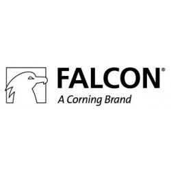 Falcon Plate sq well w lid cs5 353925